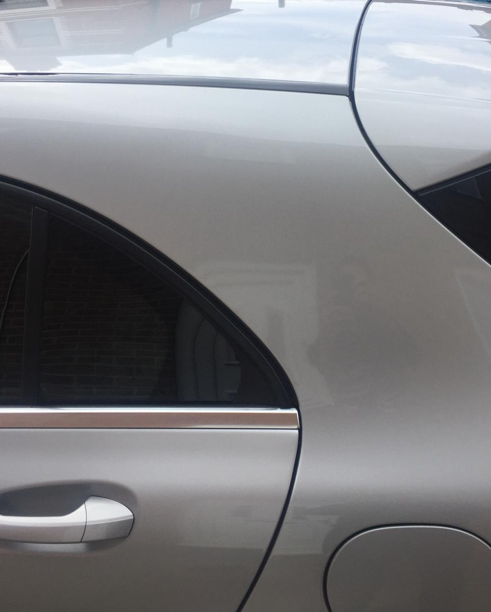 Medium paintless dent removal